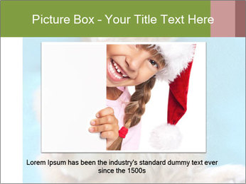 Funny lazy red cat in Santa Claus hat PowerPoint Template - Slide 15