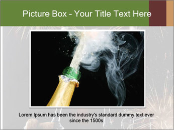 Two glasses of champagne PowerPoint Templates - Slide 15