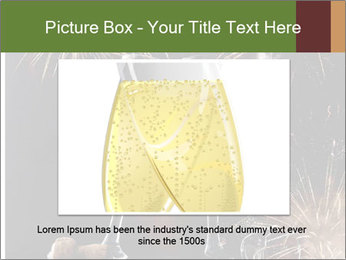 Two glasses of champagne PowerPoint Templates - Slide 16