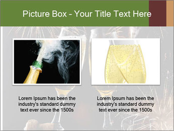 Two glasses of champagne PowerPoint Templates - Slide 18