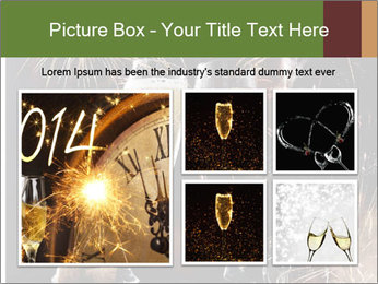 Two glasses of champagne PowerPoint Templates - Slide 19
