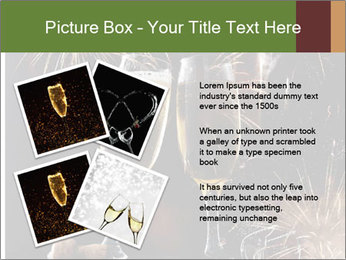 Two glasses of champagne PowerPoint Templates - Slide 23