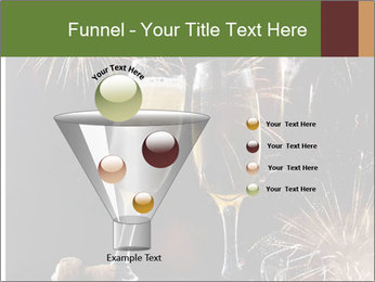 Two glasses of champagne PowerPoint Templates - Slide 63