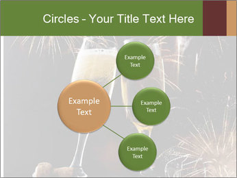 Two glasses of champagne PowerPoint Template - Slide 79