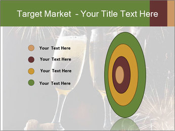 Two glasses of champagne PowerPoint Templates - Slide 84