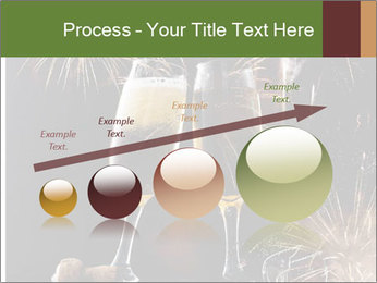 Two glasses of champagne PowerPoint Templates - Slide 87