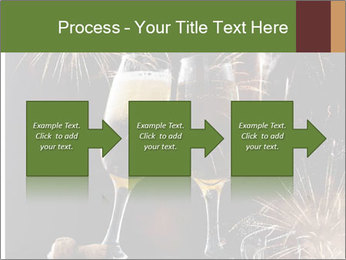 Two glasses of champagne PowerPoint Templates - Slide 88
