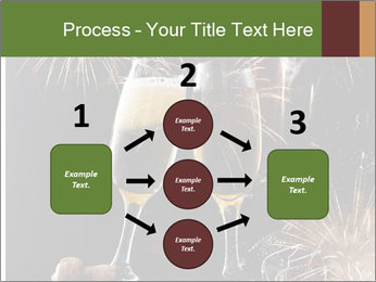 Two glasses of champagne PowerPoint Templates - Slide 92