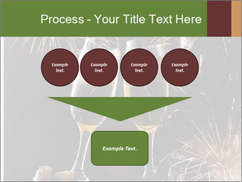 Two glasses of champagne PowerPoint Templates - Slide 93