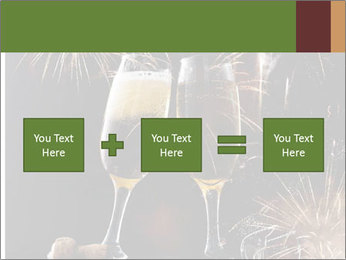 Two glasses of champagne PowerPoint Template - Slide 95