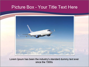 Airplane in the sky PowerPoint Templates - Slide 16