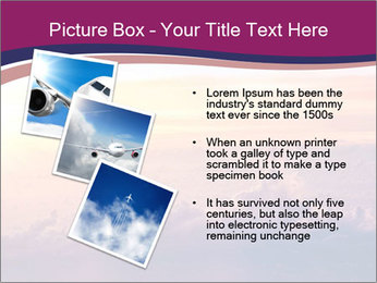 Airplane in the sky PowerPoint Templates - Slide 17
