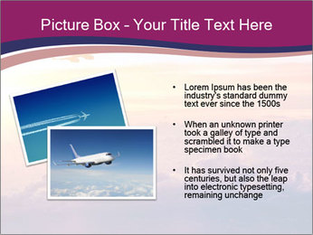Airplane in the sky PowerPoint Templates - Slide 20