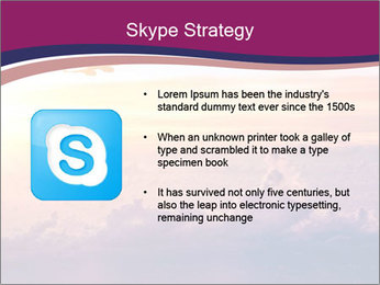 Airplane in the sky PowerPoint Templates - Slide 8