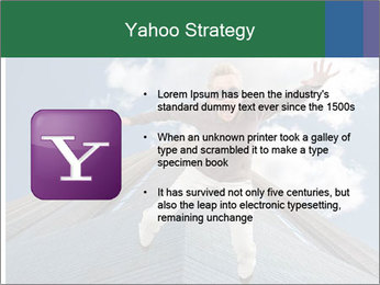 A woman falling PowerPoint Templates - Slide 11