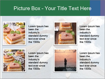 A woman falling PowerPoint Template - Slide 14