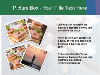 A woman falling PowerPoint Templates - Slide 23