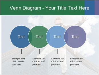 A woman falling PowerPoint Templates - Slide 32