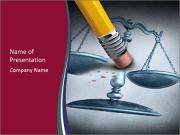 Injustice and discrimination as a concept for breaking the law Plantillas de Presentaciones PowerPoint