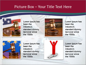 Injustice and discrimination as a concept for breaking the law PowerPoint Templates - Slide 14