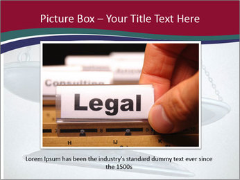 Injustice and discrimination as a concept for breaking the law PowerPoint Templates - Slide 16