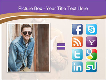 Hipster style PowerPoint Template - Slide 21