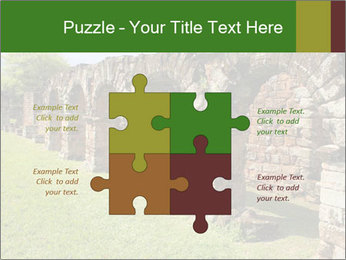 Jesuit mission Ruins PowerPoint Template - Slide 43