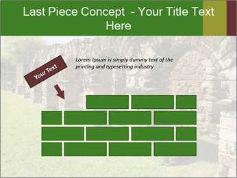 Jesuit mission Ruins PowerPoint Template - Slide 46