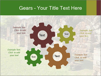Jesuit mission Ruins PowerPoint Template - Slide 47