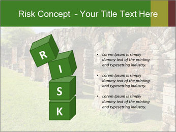 Jesuit mission Ruins PowerPoint Template - Slide 81