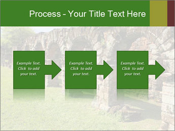Jesuit mission Ruins PowerPoint Template - Slide 88