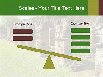Jesuit mission Ruins PowerPoint Template - Slide 89