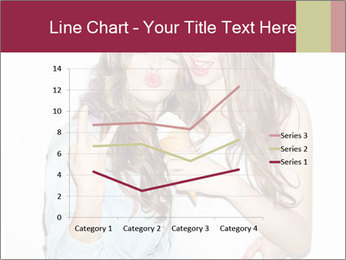 Pretty brunette girls PowerPoint Template - Slide 54