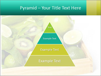Fresh green vegetables and fruits PowerPoint Template - Slide 30