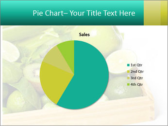 Fresh green vegetables and fruits PowerPoint Template - Slide 36