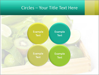 Fresh green vegetables and fruits PowerPoint Templates - Slide 38