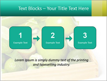Fresh green vegetables and fruits PowerPoint Template - Slide 71