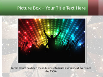 Crazy dancing disco clown PowerPoint Templates - Slide 16