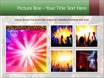 Crazy dancing disco clown PowerPoint Templates - Slide 19