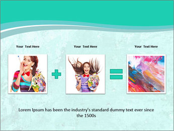 Mint abstract PowerPoint Templates - Slide 22