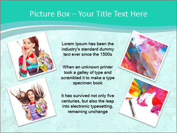 Mint abstract PowerPoint Templates - Slide 24