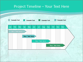 Mint abstract PowerPoint Template - Slide 25