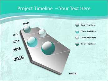 Mint abstract PowerPoint Template - Slide 26