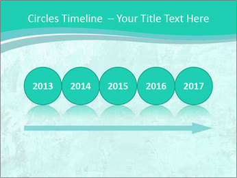 Mint abstract PowerPoint Template - Slide 29