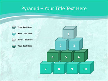 Mint abstract PowerPoint Template - Slide 31