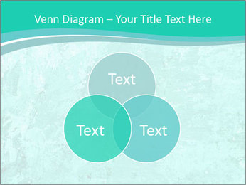 Mint abstract PowerPoint Template - Slide 33