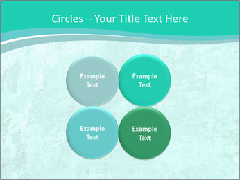 Mint abstract PowerPoint Template - Slide 38
