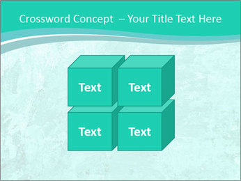 Mint abstract PowerPoint Template - Slide 39
