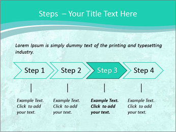 Mint abstract PowerPoint Template - Slide 4