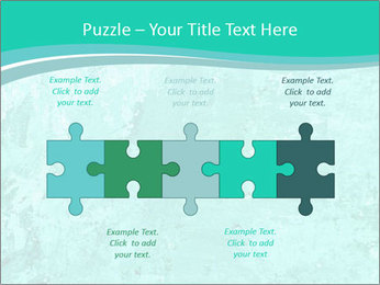 Mint abstract PowerPoint Template - Slide 41